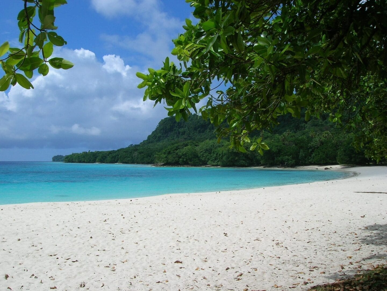 La playa de Champagne Vanuatu