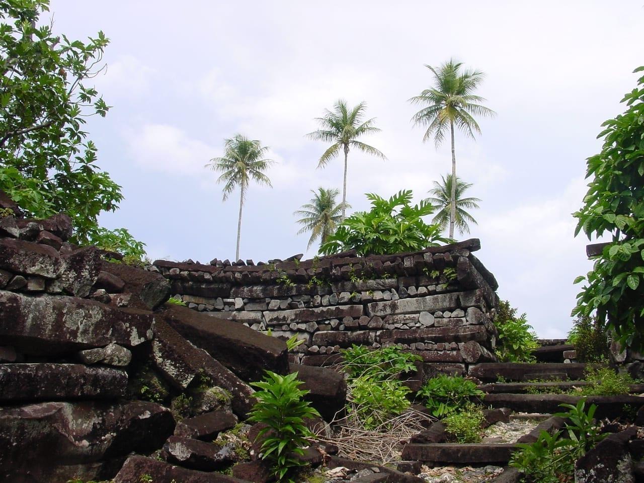 Las ruinas de Nan Madol Micronesia