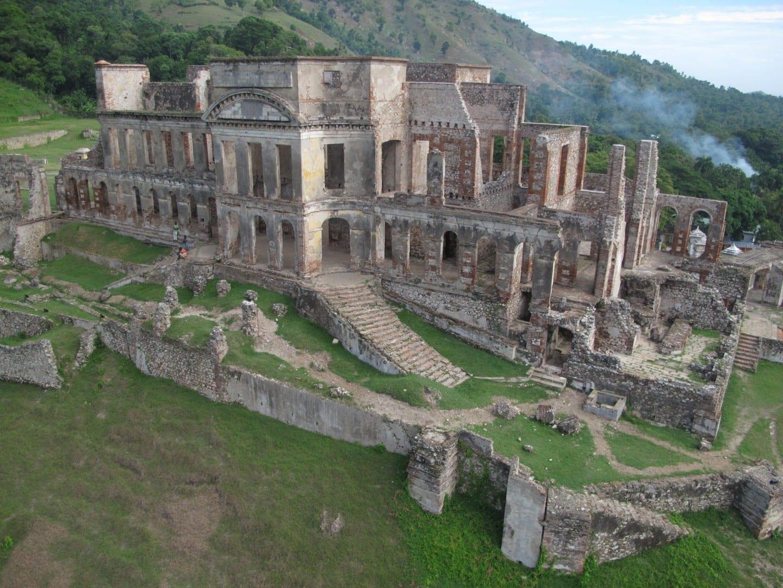Las ruinas del Palacio Sans Souci Haiti