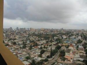 Luanda recibe casi toda su lluvia en marzo y abril. Angola