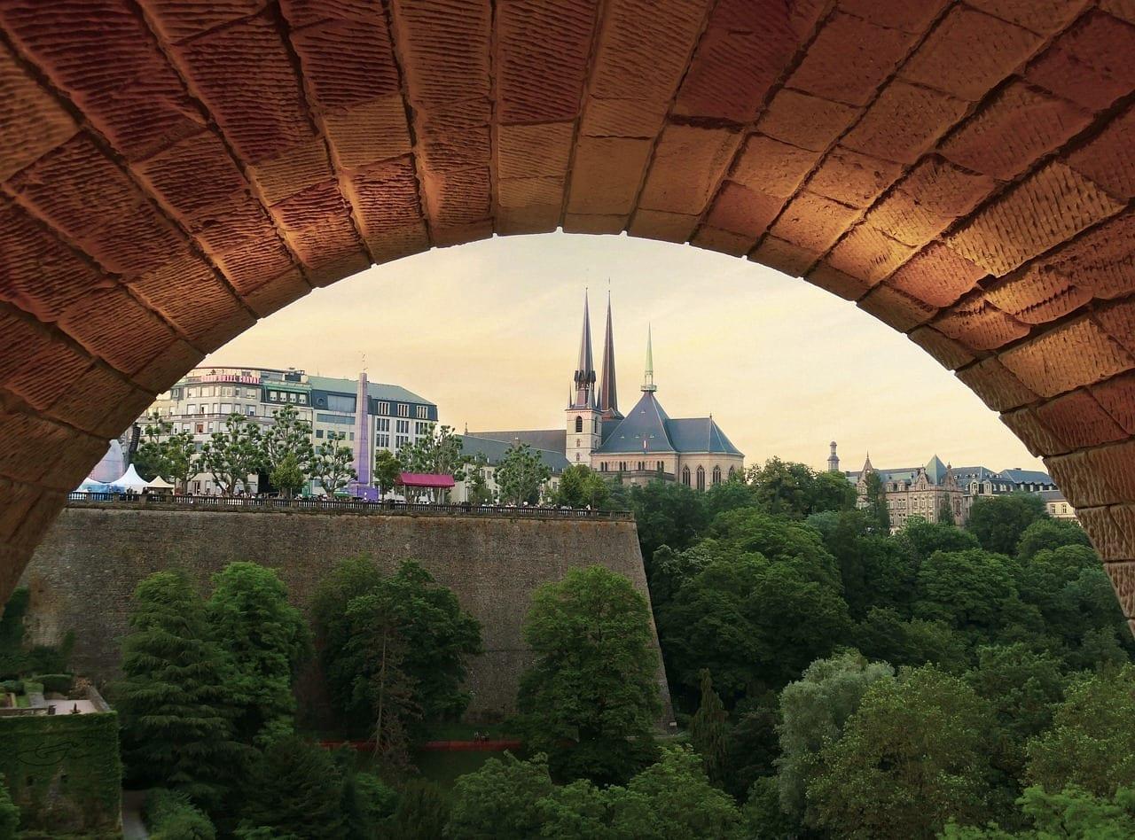 Luxemburgo Ciudad Arquitectura