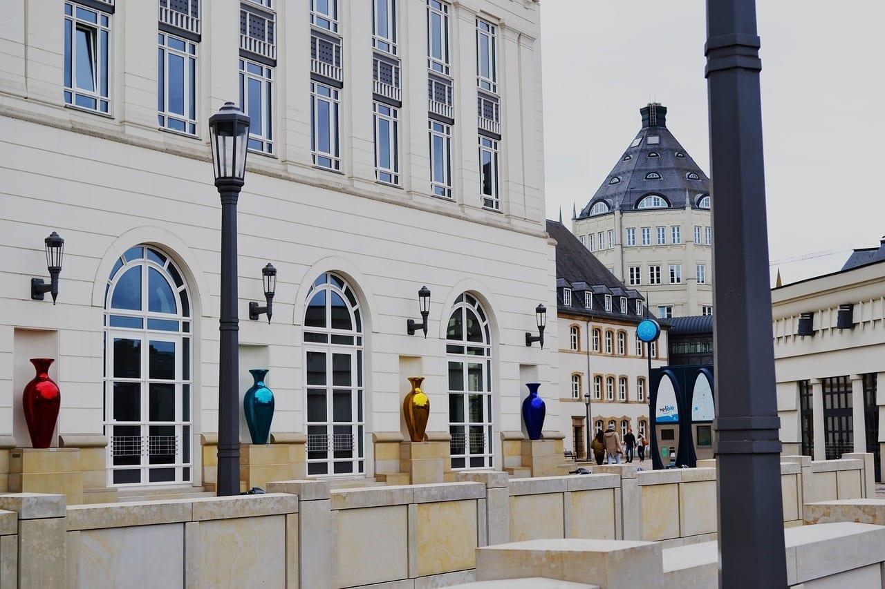 Luxemburgo Edificios Europa