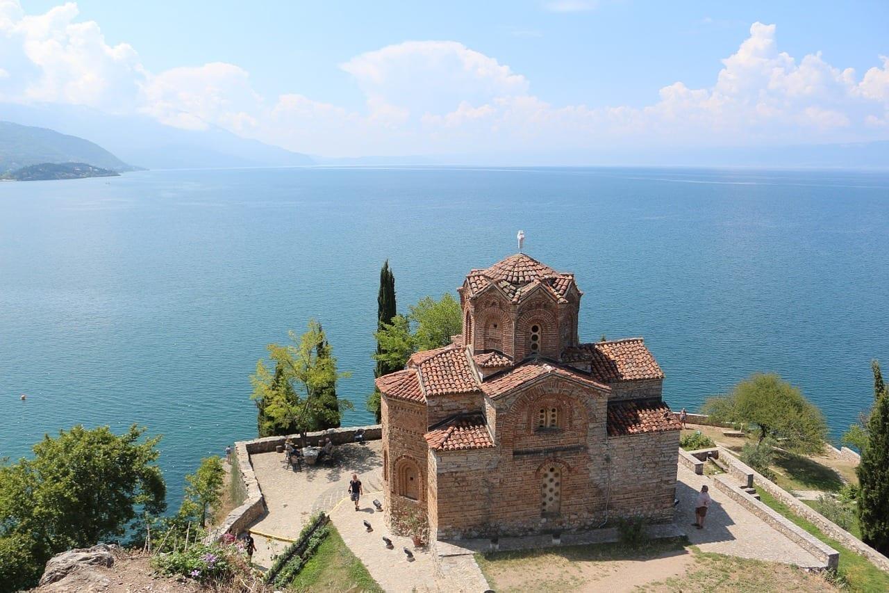 Macedonia Lago Iglesia