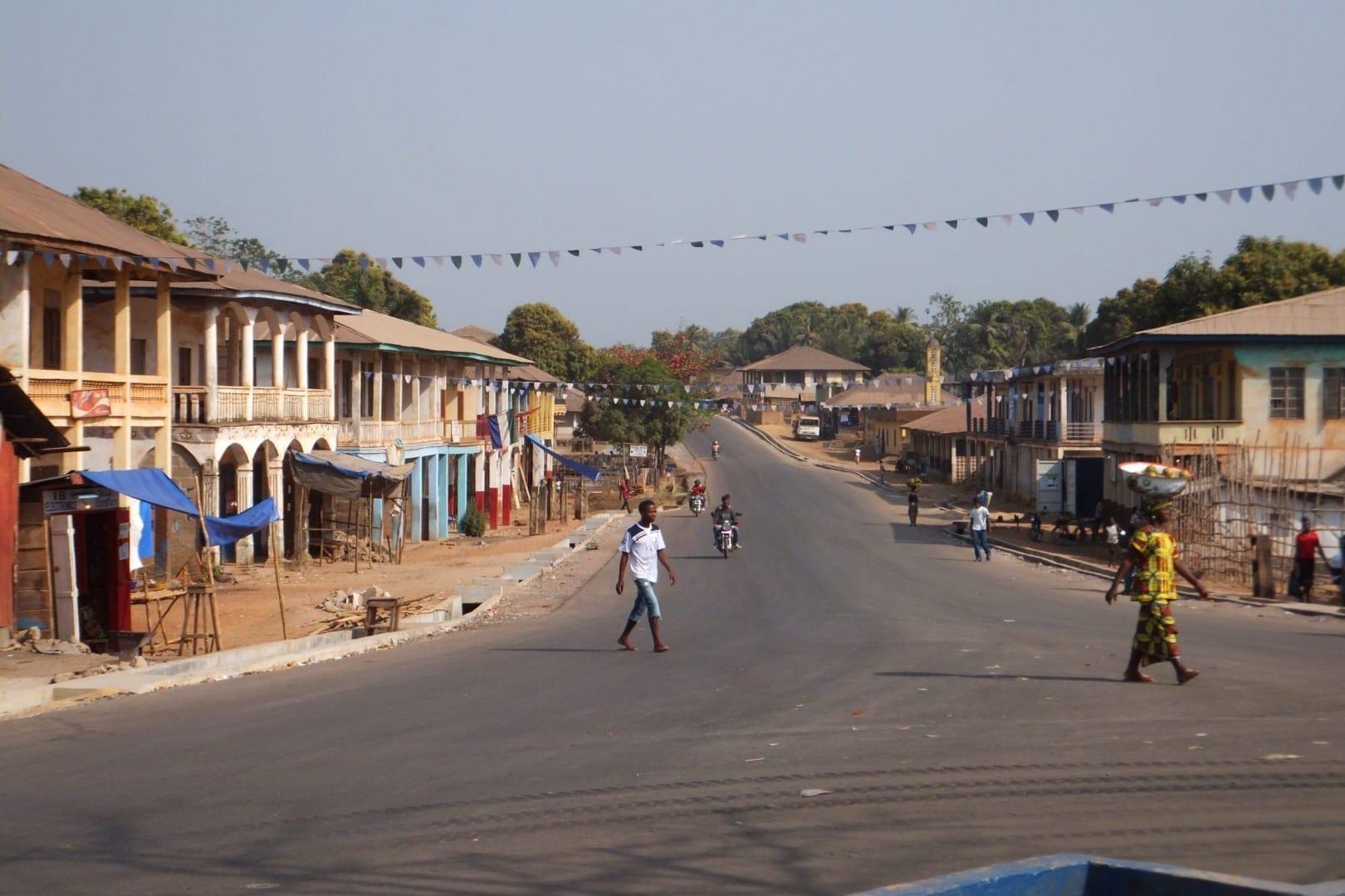 Magburaka Sierra Leone