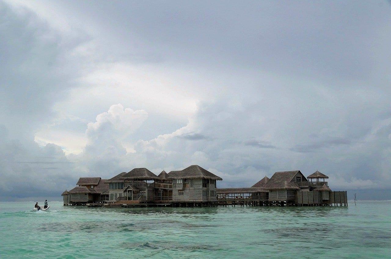 Maldivas Cabaña Choza