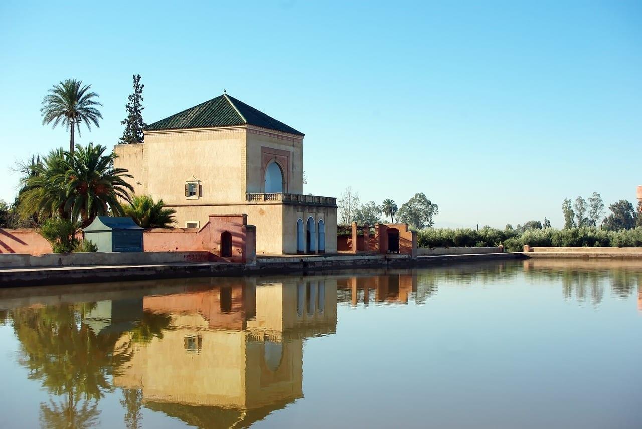 Marruecos Marrakech Palacio De La Menara