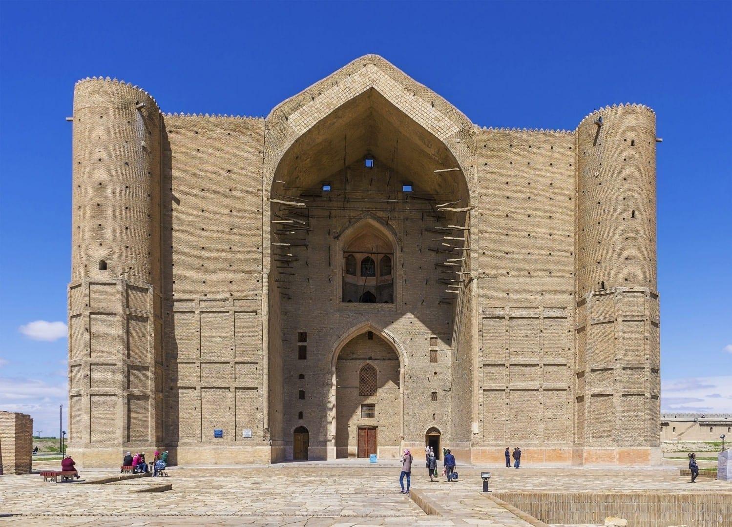 Mausoleo de Khoja Ahmed Yasawi Kazajistán