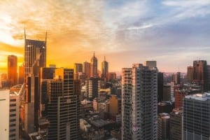 Melbourne Australia Ciudad