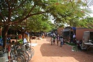 Mercado central de Fada N'Gourma Burkina Faso