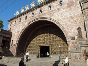 Mercado cubierto de Ereván. Armenia