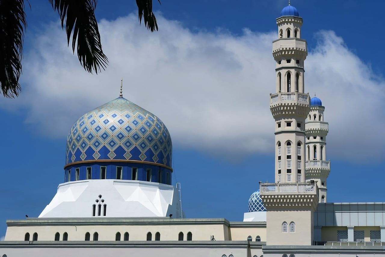 Mezquita De Malasia Cielo