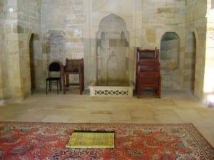 Mezquita de Saray, Palacio de Shirvanshahs Azerbaiyán