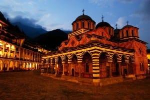 Monasterio De Rila Bulgaria Iglesia