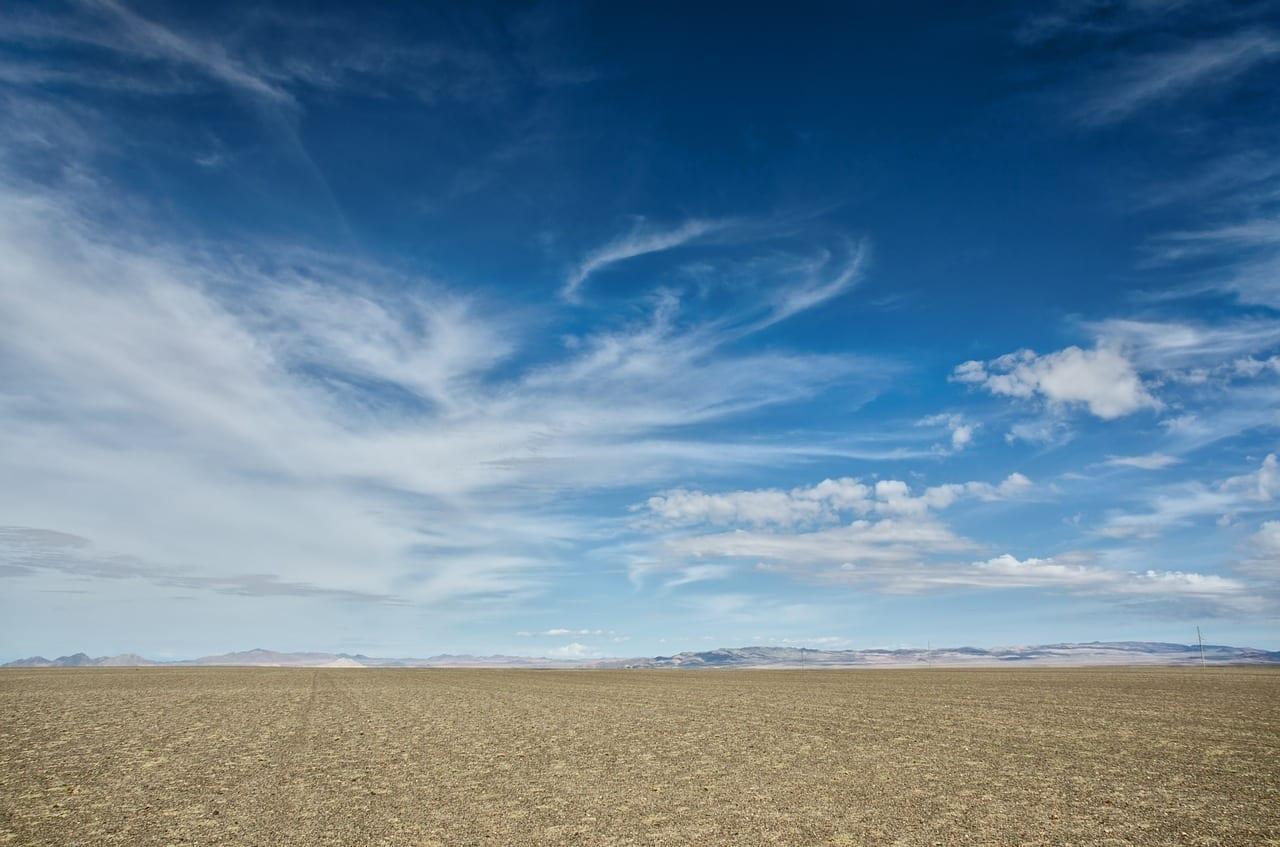 Mongolia Desierto Cielo