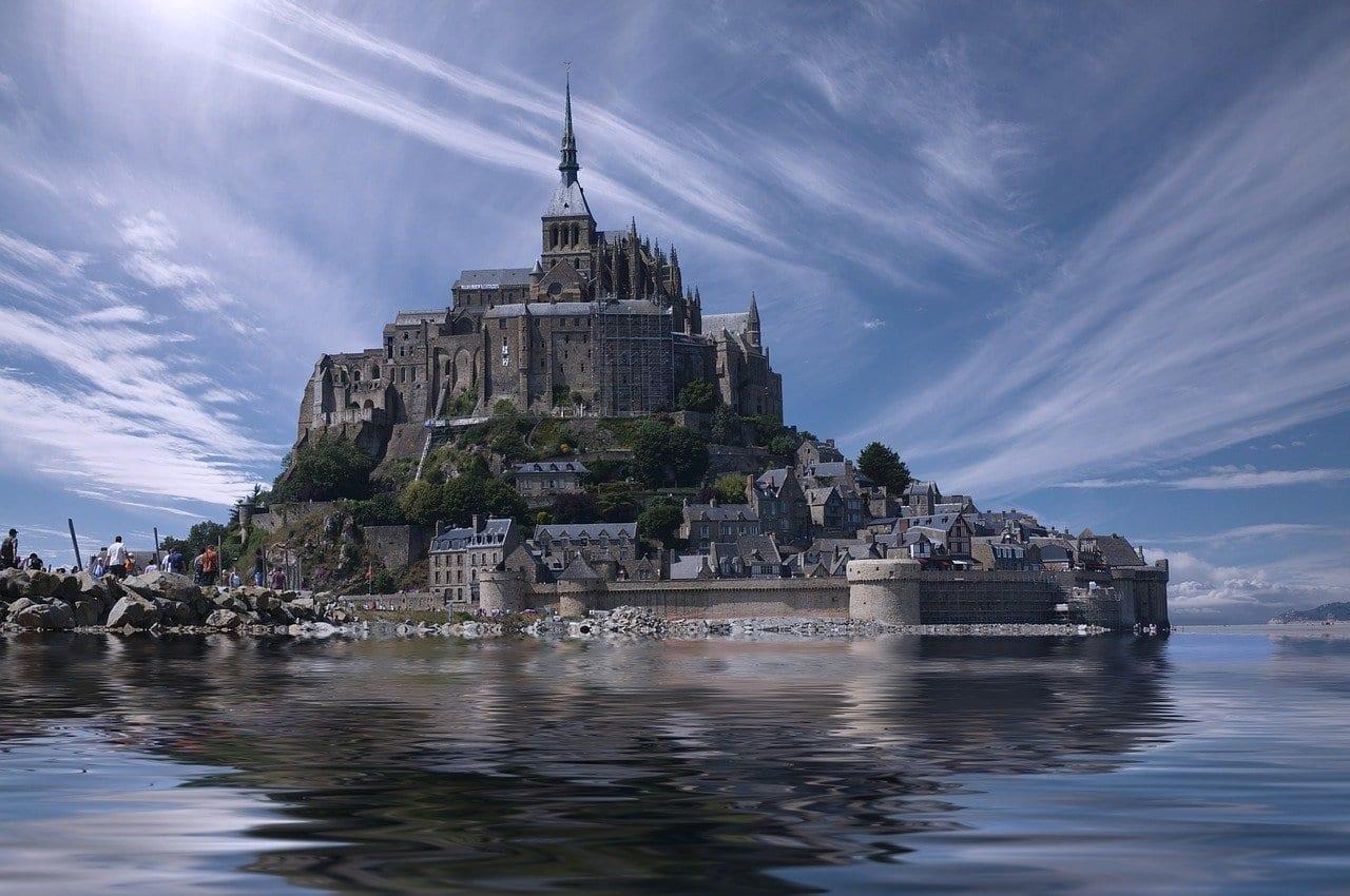 Mont Saint-michel Francia Normandía