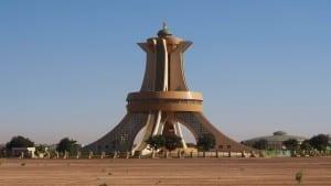 Monumento a los Mártires Burkina Faso