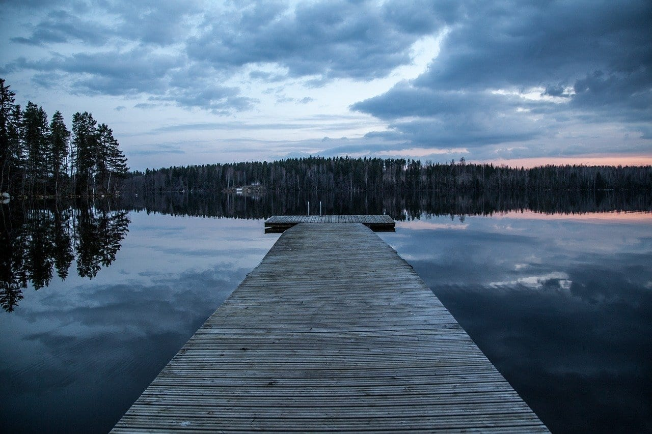 Muelle Lago Finlandia