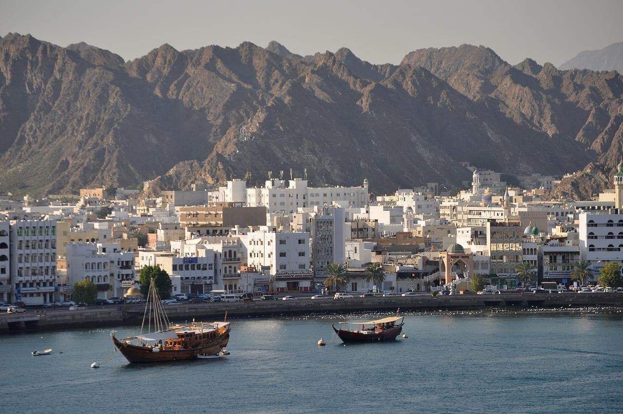 Muscat Omán Puerto