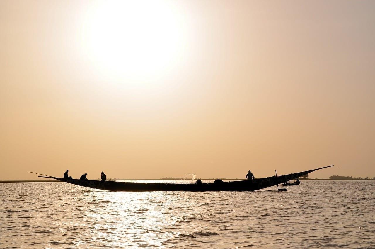 Níger áfrica Río