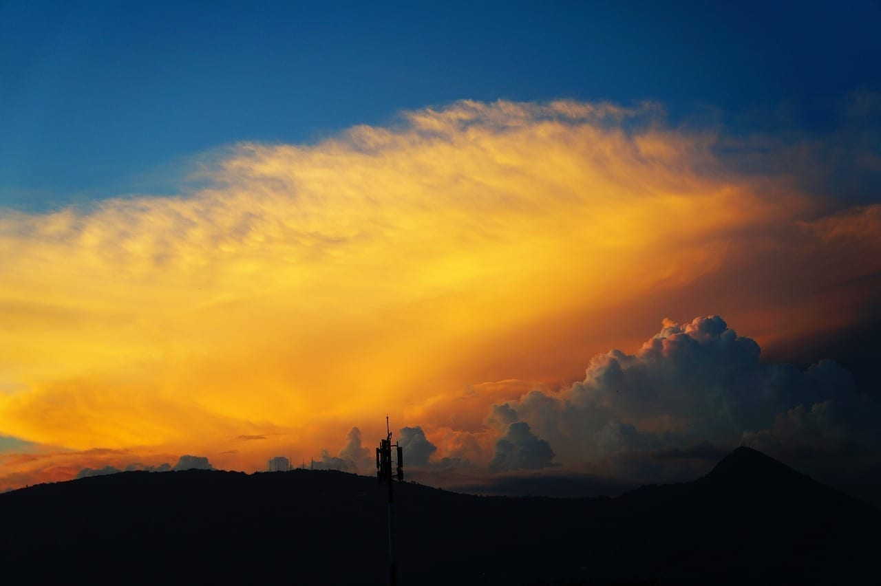 Nubes Atardecer El Salvador