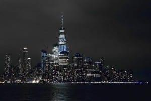 Nueva York Horizonte Ciudad De Nueva York