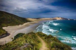 Nueva Zelanda Playa Mar
