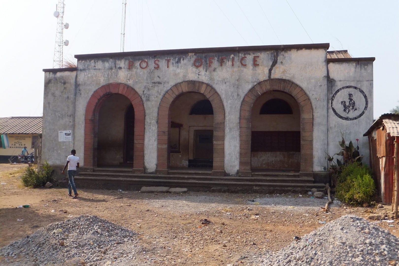 Oficina de Correos Sierra Leone
