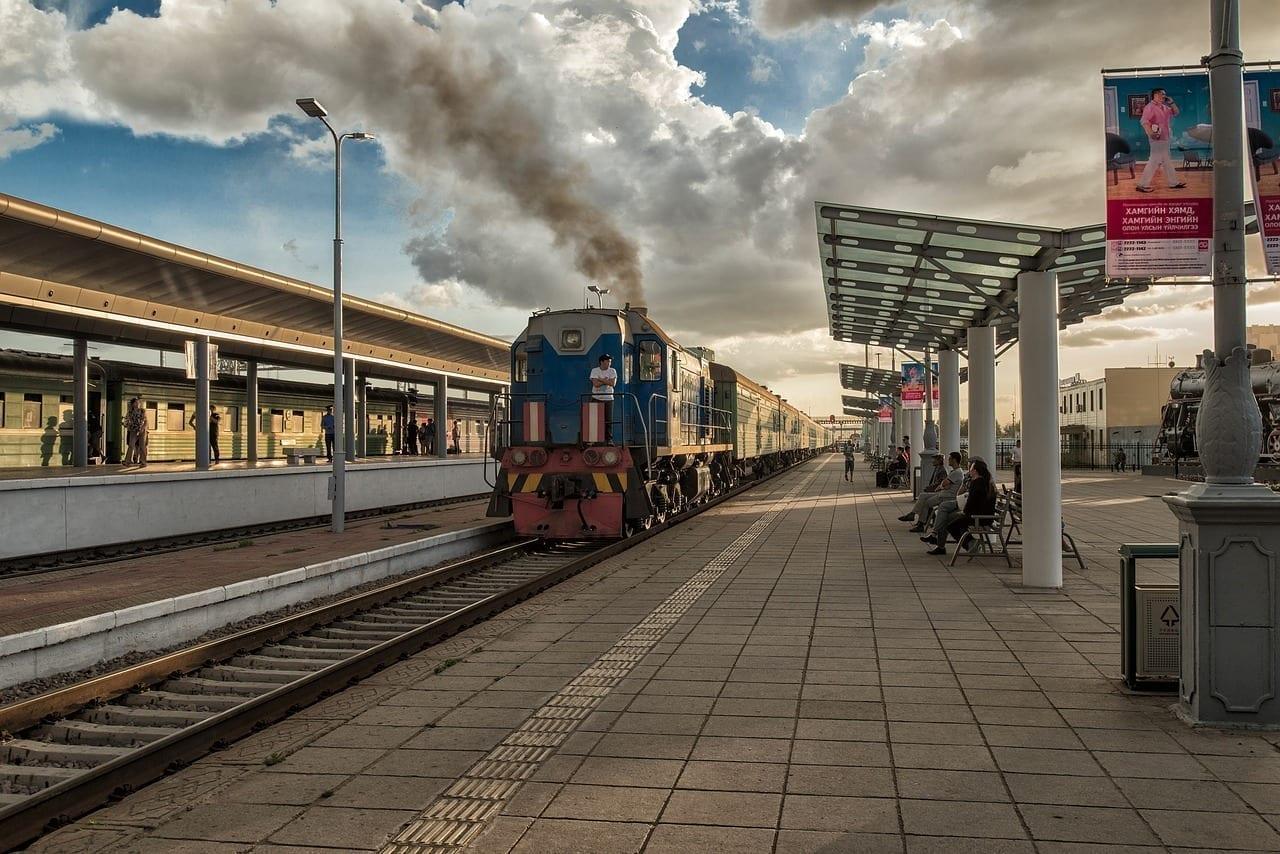 Paisaje Mongolia Estación De Ulaanbaatar