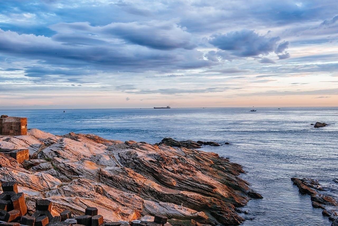 Paisaje Vistas Al Mar Taiwán
