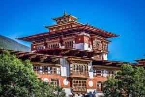 Palacio Bután Arquitectura