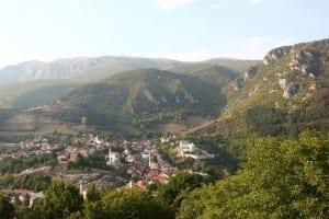 Panorama de Travnik Bosnia y Herzegovina