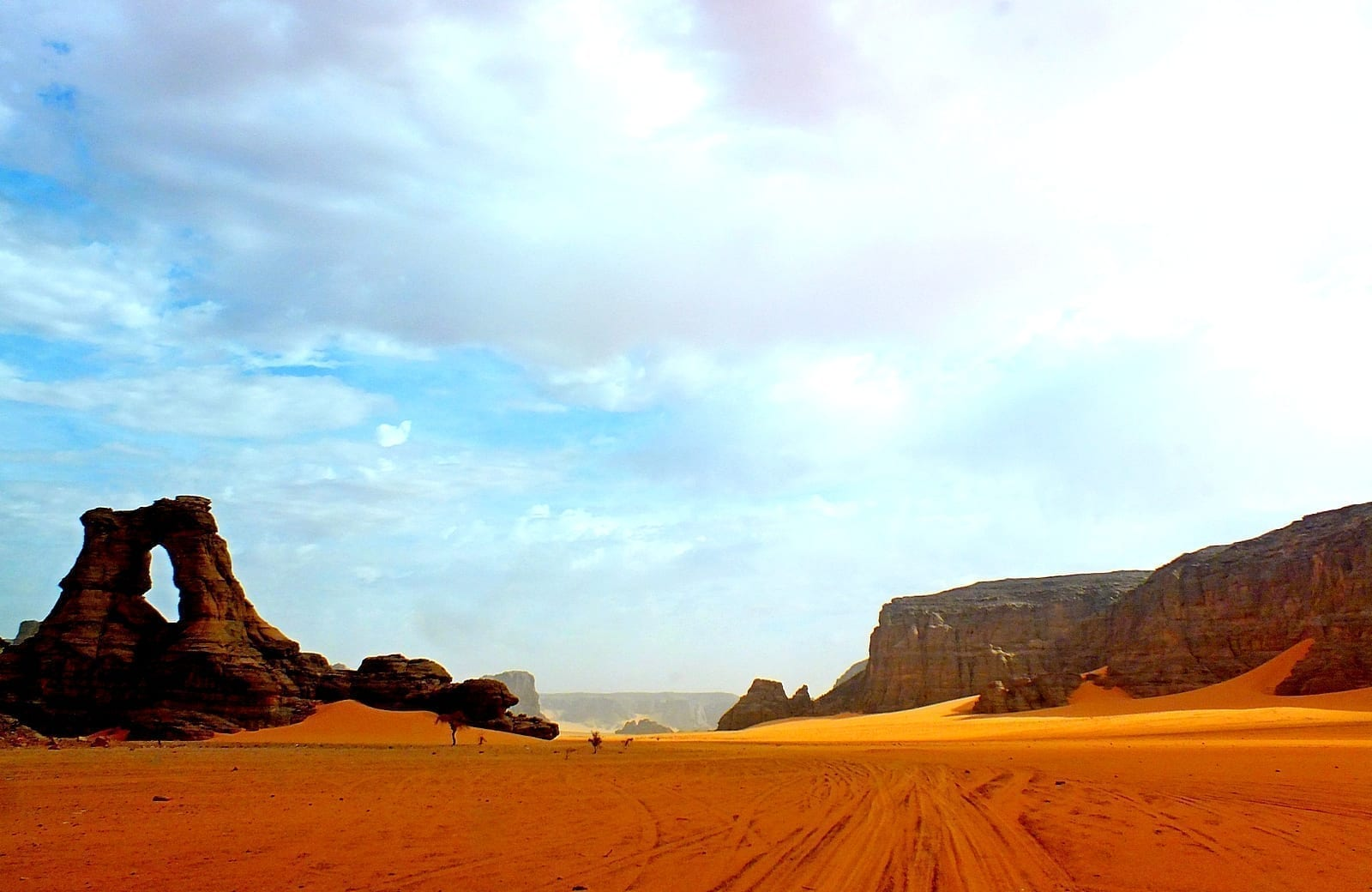 Parque cultural de Tassili Argelia
