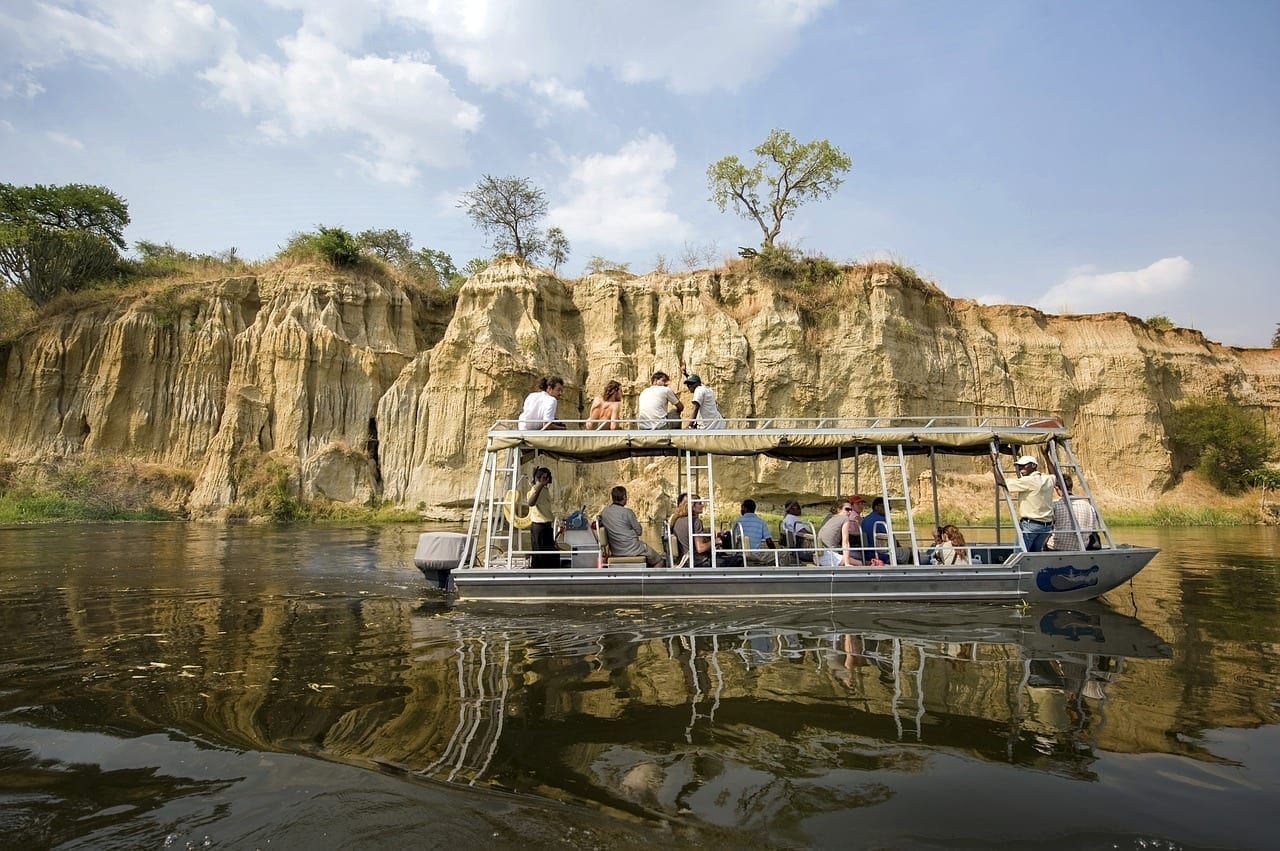 Parque Nacional Murchison Uganda Turistas