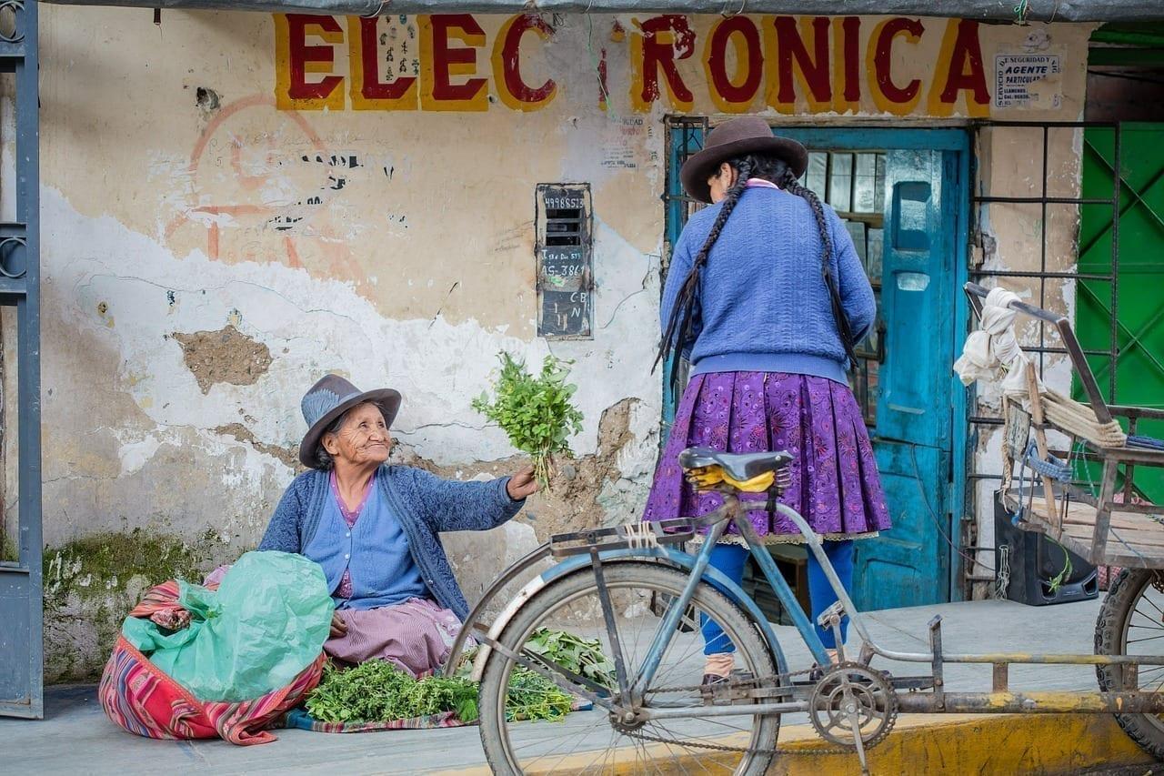 Perú De Viaje Personas