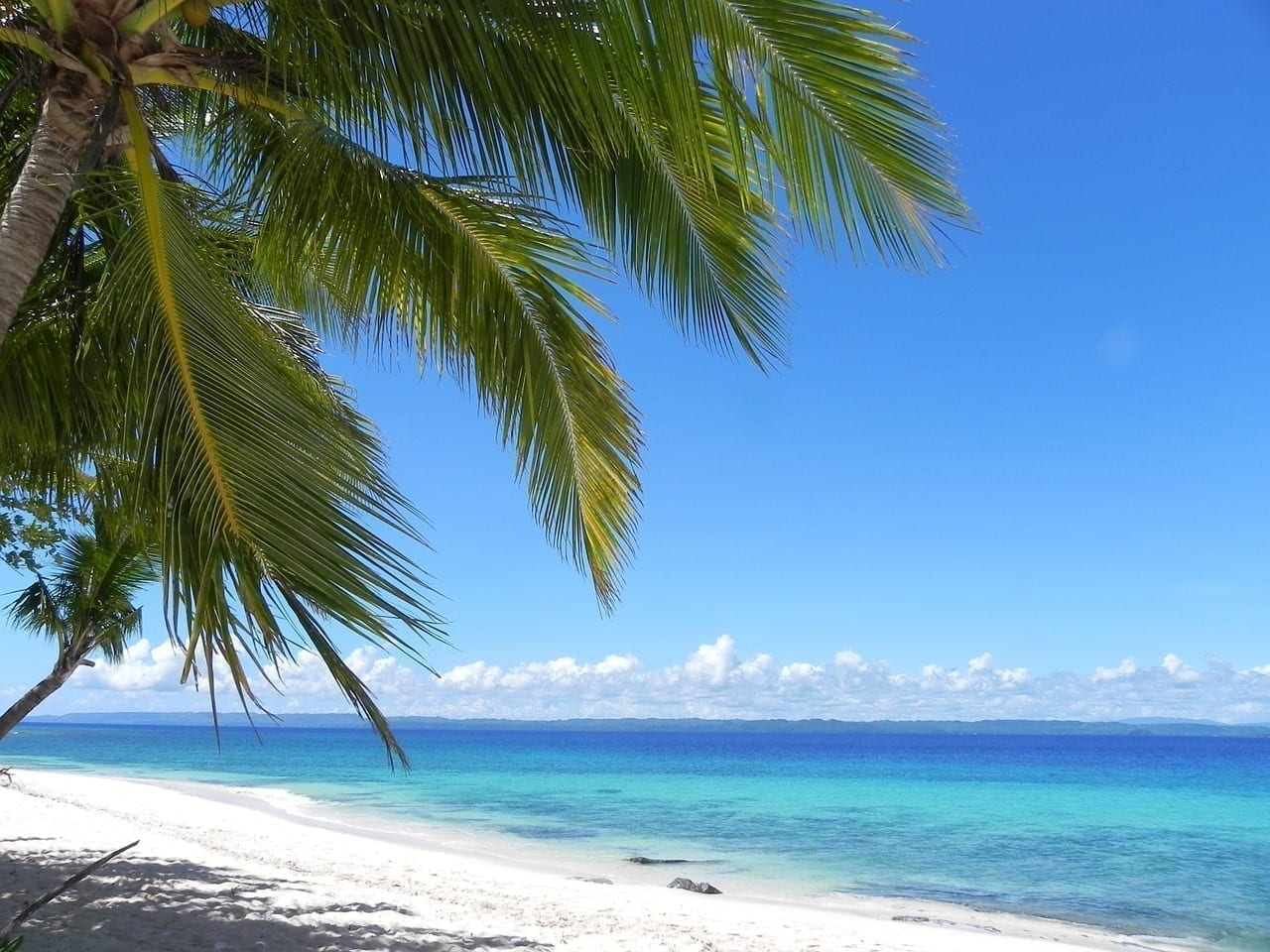 Playa De Blanca Arena Filipinas Mindanao