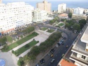 Plaza de la Independencia Senegal