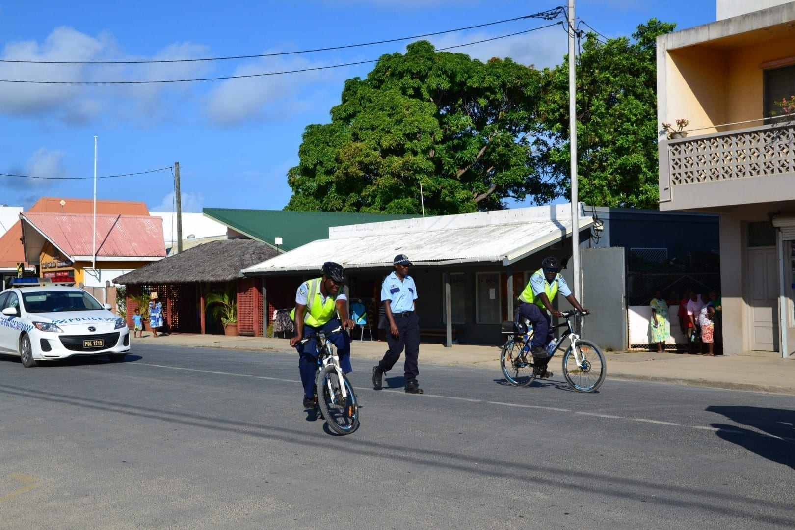 Police on Espiritu Santo Vanuatu