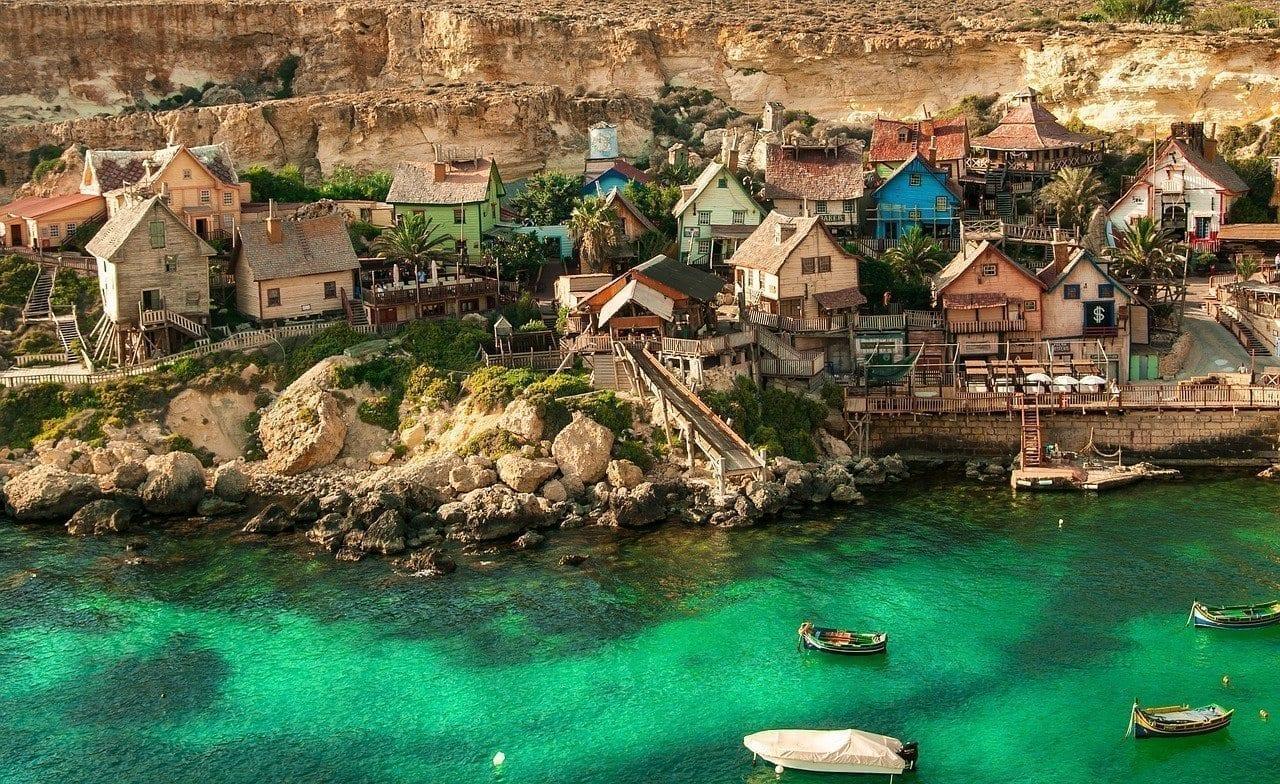 Popeye Village Malta Arquitectura