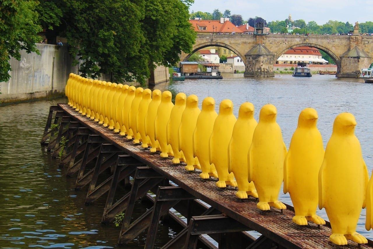 Praga Moldavia Obras De Arte