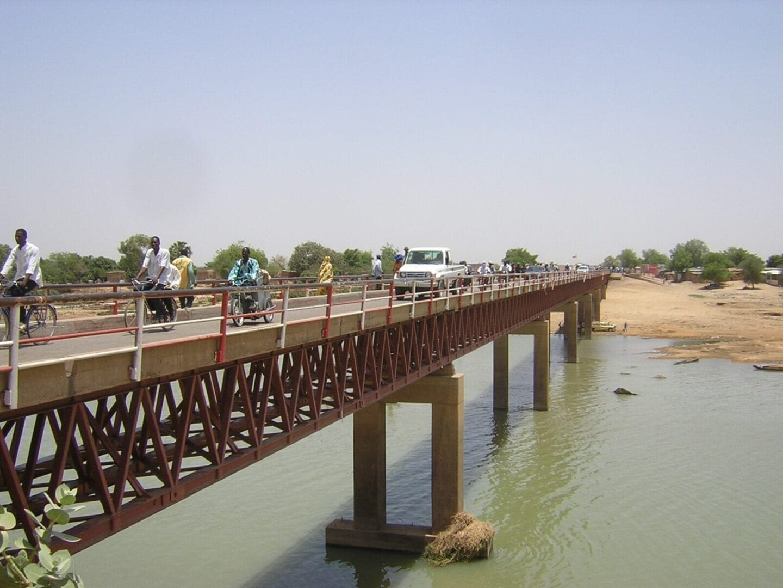Puente en el Chad Chad