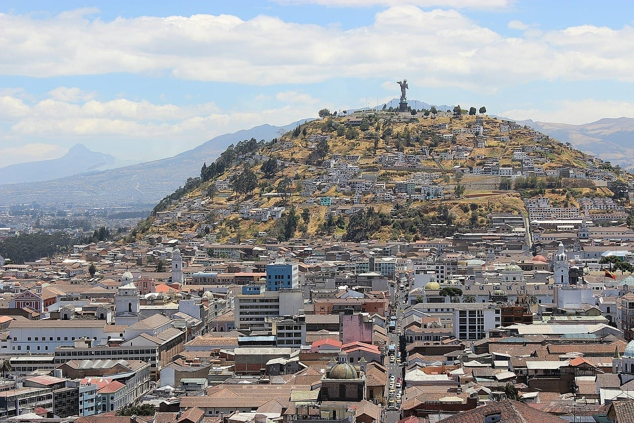 Quito Ecuador De Viaje