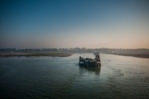 Río Bangladesh Jabalí