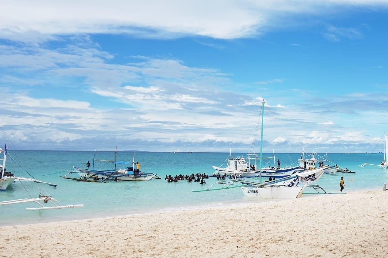 República De Filipinas Boracay Mar