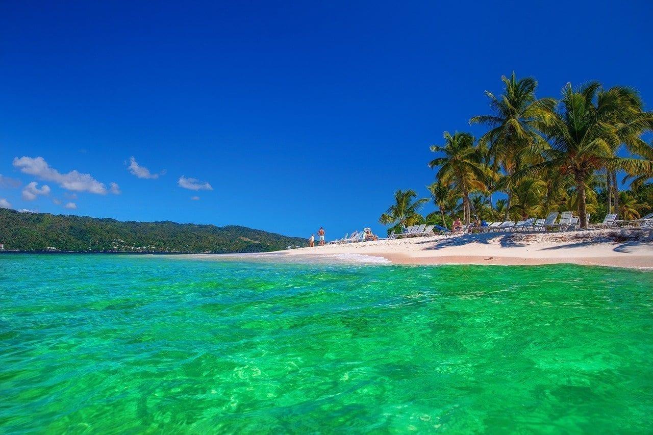 República Dominicana Cayo Levantado Island