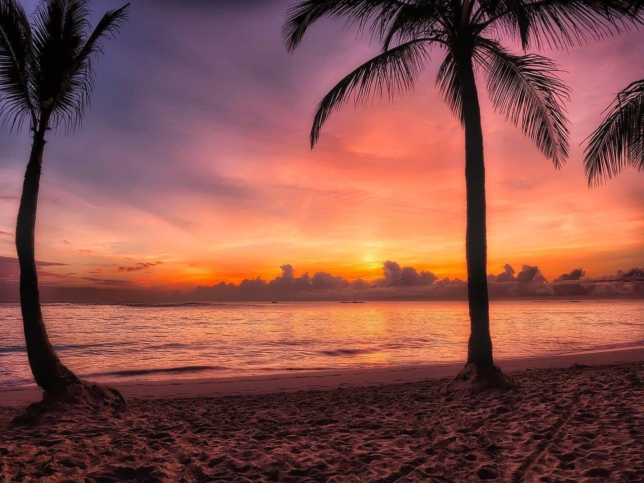 República Dominicana Sunrise Salida Del Sol