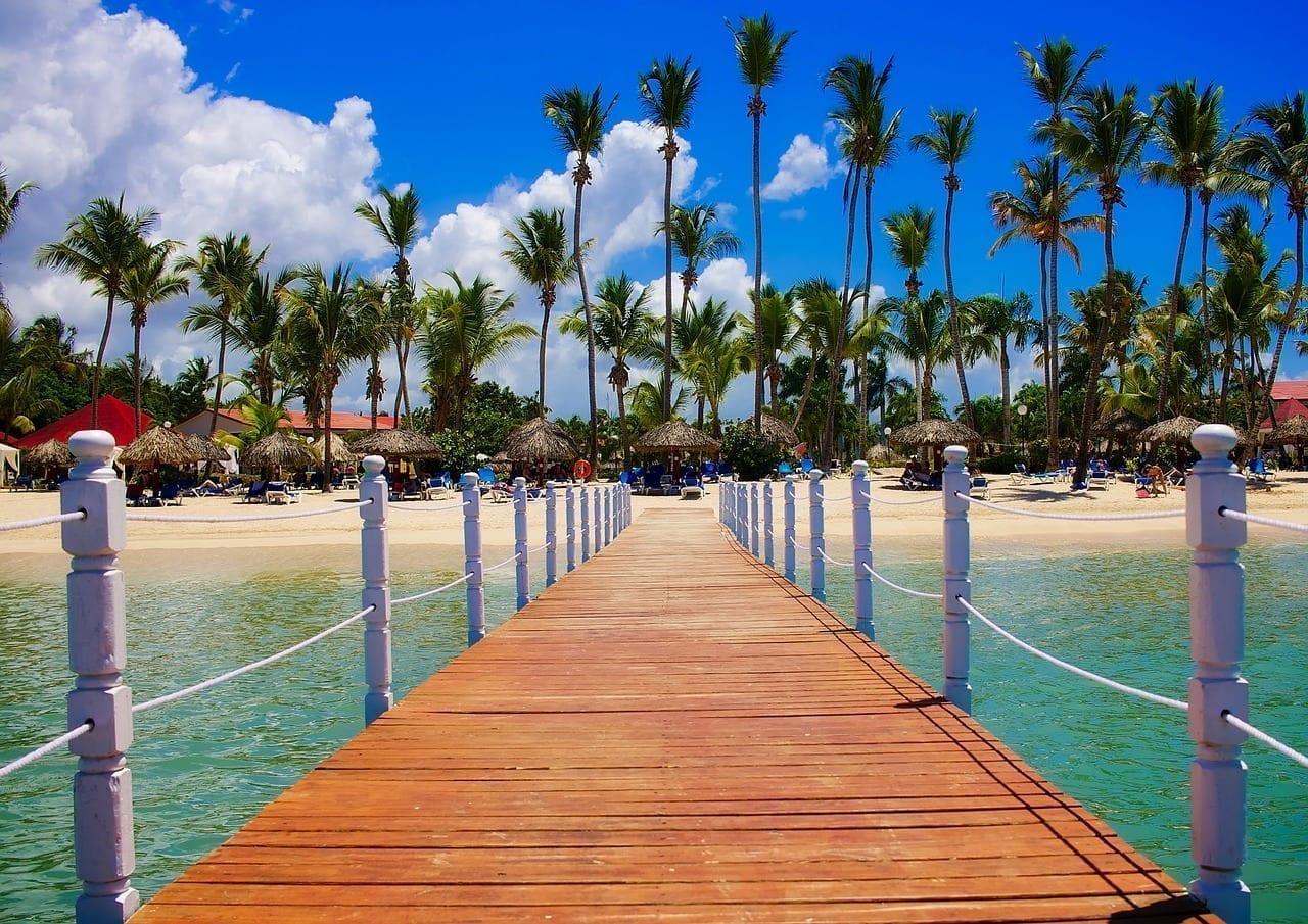 República Dominicana Trópico Palmas