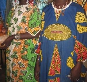 Ropa femenina de Burkina Faso Burkina Faso