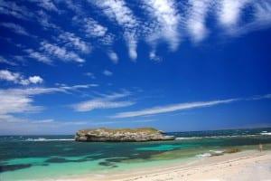 Rottnest Island Australia Océano índico