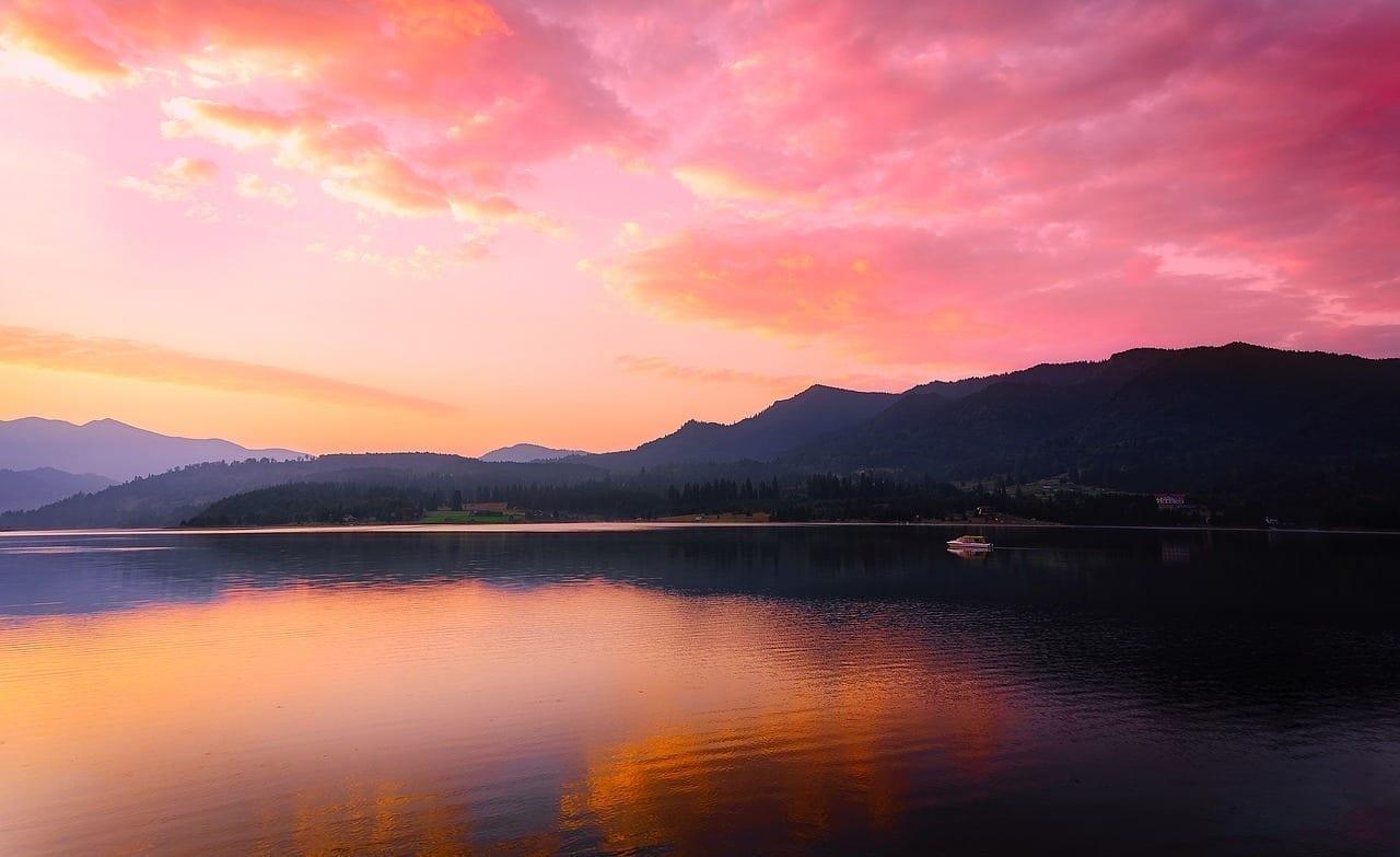 Rumania Lago El Agua