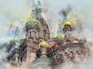 Rusia Saint Petersbourg Catedral